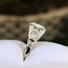 2.25ct Art Deco Transitional Cut Diamond Ring GIA J VS1 19