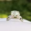 2.25ct Art Deco Transitional Cut Diamond Ring GIA J VS1 17