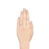 2.25ct Art Deco Transitional Cut Diamond Ring GIA J VS1 3