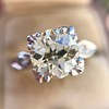 2.29ct Old European Cut Diamond Solitaire GIA ST SI1 16