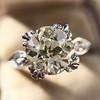 2.29ct Old European Cut Diamond Solitaire GIA ST SI1 15