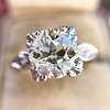 2.29ct Old European Cut Diamond Solitaire GIA ST SI1 5