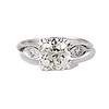 2.29ct Old European Cut Diamond Solitaire GIA ST SI1 0