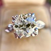 2.29ct Old European Cut Diamond Solitaire GIA ST SI1 8