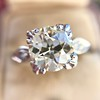 2.29ct Old European Cut Diamond Solitaire GIA ST SI1 4