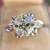 2.29ct Old European Cut Diamond Solitaire GIA ST SI1 6