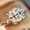 2.29ct Old European Cut Diamond Solitaire GIA ST SI1 14
