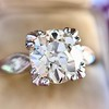2.29ct Old European Cut Diamond Solitaire GIA ST SI1 17