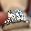 2.29ct Old European Cut Diamond Solitaire GIA ST SI1 13
