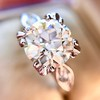 2.29ct Old European Cut Diamond Solitaire GIA ST SI1 18