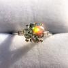 2.35ct Old European Cut Diamond Vintage Ring, GIA J VS2 5