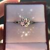 2.35ct Old European Cut Diamond Vintage Ring, GIA J VS2 19