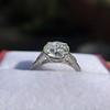 2.35ct Old European Cut Diamond Vintage Ring, GIA J VS2 15
