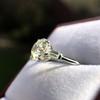 2.35ct Old European Cut Diamond Vintage Ring, GIA J VS2 21