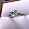 2.35ct Old European Cut Diamond Vintage Ring, GIA J VS2 13