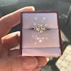 2.35ct Old European Cut Diamond Vintage Ring, GIA J VS2 6