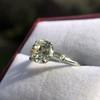 2.35ct Old European Cut Diamond Vintage Ring, GIA J VS2 16