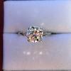 2.35ct Old European Cut Diamond Vintage Ring, GIA J VS2 18