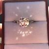 2.35ct Old European Cut Diamond Vintage Ring, GIA J VS2 7