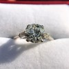 2.35ct Old European Cut Diamond Vintage Ring, GIA J VS2 12