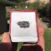 2.38ctw Art Deco Transitional Cut Diamond 3-Stone Ring 12