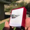2.38ctw Art Deco Transitional Cut Diamond 3-Stone Ring 13