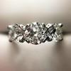 2.38ctw Art Deco Transitional Cut Diamond 3-Stone Ring 26