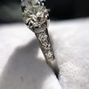 2.38ctw Art Deco Transitional Cut Diamond 3-Stone Ring 23