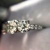 2.38ctw Art Deco Transitional Cut Diamond 3-Stone Ring 21