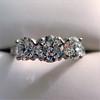 2.38ctw Art Deco Transitional Cut Diamond 3-Stone Ring 6