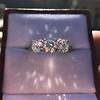 2.38ctw Art Deco Transitional Cut Diamond 3-Stone Ring 24