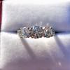 2.38ctw Art Deco Transitional Cut Diamond 3-Stone Ring 19
