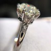 2.63ct Old European Cut Diamond Solitaire, GIA K VS2 7