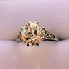 2.63ct Old European Cut Diamond Solitaire, GIA K VS2 12