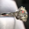 2.63ct Old European Cut Diamond Solitaire, GIA K VS2 38