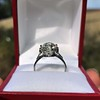2.63ct Old European Cut Diamond Solitaire, GIA K VS2 30