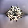 2.63ct Old European Cut Diamond Solitaire, GIA K VS2 26