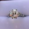 2.63ct Old European Cut Diamond Solitaire, GIA K VS2 5