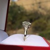 2.63ct Old European Cut Diamond Solitaire, GIA K VS2 31