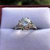 2.63ct Old European Cut Diamond Solitaire, GIA K VS2 26