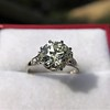 2.63ct Old European Cut Diamond Solitaire, GIA K VS2 33