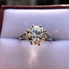 2.63ct Old European Cut Diamond Solitaire, GIA K VS2 37