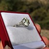 2.63ct Old European Cut Diamond Solitaire, GIA K VS2 19