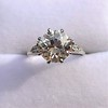 2.63ct Old European Cut Diamond Solitaire, GIA K VS2 39