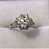 2.63ct Old European Cut Diamond Solitaire, GIA K VS2 22
