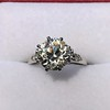 2.63ct Old European Cut Diamond Solitaire, GIA K VS2 10