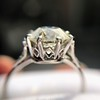 2.63ct Old European Cut Diamond Solitaire, GIA K VS2 5