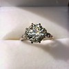 2.63ct Old European Cut Diamond Solitaire, GIA K VS2 28