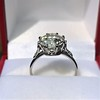 2.63ct Old European Cut Diamond Solitaire, GIA K VS2 15