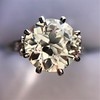2.63ct Old European Cut Diamond Solitaire, GIA K VS2 35